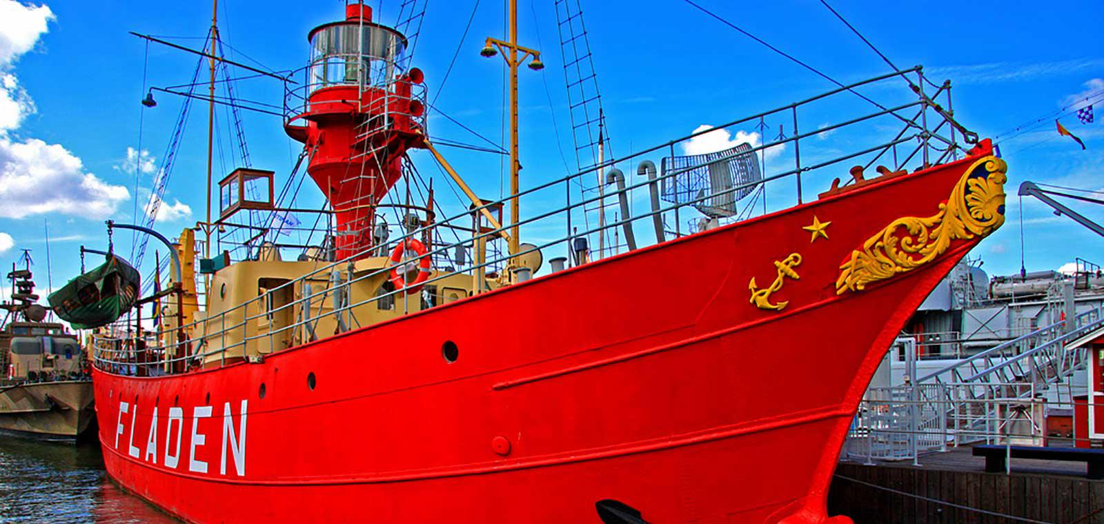 Fyrskeppet Fladen, Maritiman, Göteborg