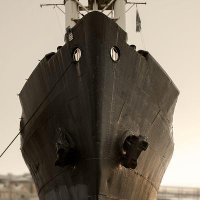 Lastfartyget Fryken i Titanic-skepnad!